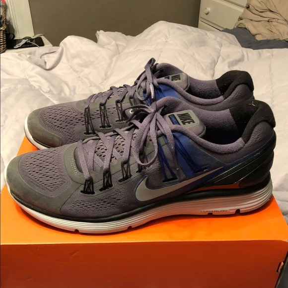 Nike Shoes Lunareclipse 3 Size 125 Greyblue Poshmark
